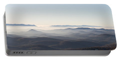 View From Blood Mountain Portable Battery Charger by Paul Rebmann
