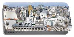 View From Edificio Martinelli - Sao Paulo Portable Battery Charger