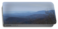 View From Springer Mountain Portable Battery Charger by Paul Rebmann