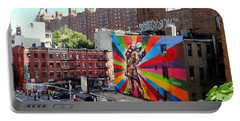 View From The Highline Portable Battery Charger by Ed Weidman