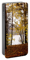 View Of  Lake Mcdonald Portable Battery Charger