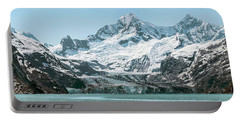 View Of Margerie Glacier In Glacier Bay Portable Battery Charger