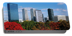 View Of Osaka Business Park In Autumn Portable Battery Charger