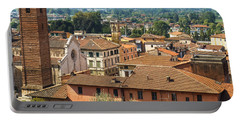 View Of Pietrasanta Portable Battery Charger