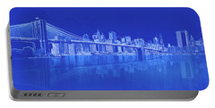 View Of Suspension Bridge Portable Battery Charger
