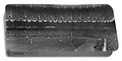 View Of Yankee Stadium Portable Battery Charger by Underwood Archives
