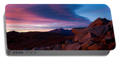 View To Long's Peak Portable Battery Charger by Steven Reed