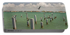 View Toward Cabbage Key From St Portable Battery Charger by Panoramic Images