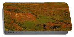 Viking Landing Point At L'anse Aux Meadows-nl Portable Battery Charger