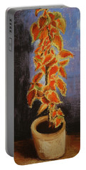 Vincent's Coleus In Pastels Portable Battery Charger by Marna Edwards Flavell
