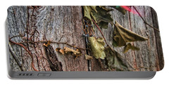 Vines And Barns Portable Battery Charger by Daniel Sheldon