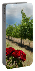 Vineyard Rose Portable Battery Charger