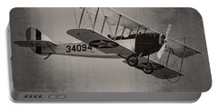 Vintage 1917 Curtiss Jn-4d Jenny Flying  Portable Battery Charger