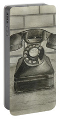 Vintage 1940's Telephone Portable Battery Charger
