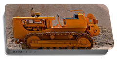 Vintage Bulldozer Portable Battery Charger