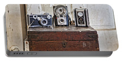 Vintage Cameras At Warehouse 54 Portable Battery Charger