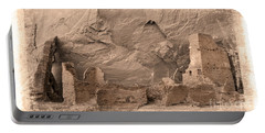 Portable Battery Charger featuring the photograph Vintage Canyon De Chelly by Jerry Fornarotto