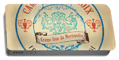 Vintage Cheese Label 4 Portable Battery Charger