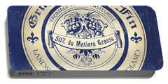 Vintage Cheese Label 5 Portable Battery Charger