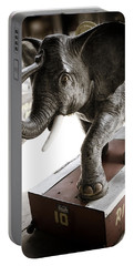 Vintage Elephant Ride Portable Battery Charger