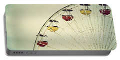 Vintage Ferris Wheel Portable Battery Charger