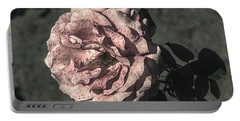 Vintage Flower Portable Battery Charger