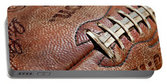 Vintage Football Portable Battery Charger