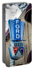 Vintage Ford Sign Portable Battery Charger