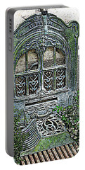 Vintage Garden Grate Portable Battery Charger