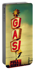 Vintage Gas Sign Portable Battery Charger