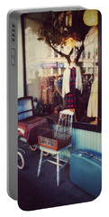 Vintage Memories Portable Battery Charger by Melanie Lankford Photography