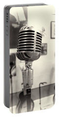 Vintage Microphone Sun Studio Portable Battery Charger