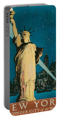 Vintage New York Portable Battery Charger