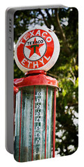 Vintage Texaco Gas Pump Portable Battery Charger