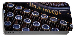 Vintage Typewriter 2 Portable Battery Charger