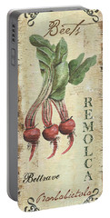 Vintage Vegetables 3 Portable Battery Charger