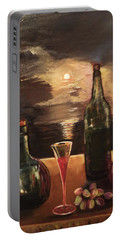 Vintage Wine Portable Battery Charger