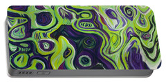 Violeta E Verde Portable Battery Charger