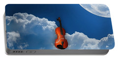 Violin In Heaven Portable Battery Charger