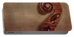 Violin Scroll Portable Battery Charger