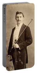 Violinist, C1900 Portable Battery Charger