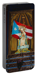 Virgin Mary In Church Portable Battery Charger