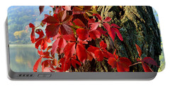 Virginia Creeper Portable Battery Charger
