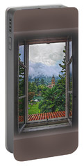 Vision Through The Window Portable Battery Charger by Hanny Heim