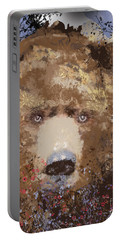 Visionary Bear Portable Battery Charger by Kim Prowse