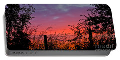 Vivid Sunset Portable Battery Charger