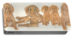 Vizsla Puppies Portable Battery Charger