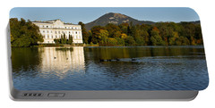 Portable Battery Charger featuring the photograph Von Trapp's Mansion by Silvia Bruno
