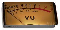 Vu Meter Illuminated Portable Battery Charger