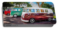 Vw Bus Stop 1964 1961 1968 Vans Trucks Painted Portable Battery Charger